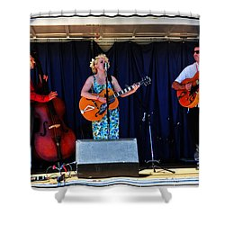 Shower Curtain featuring the photograph Leah And Her J Walkers by Mike Martin