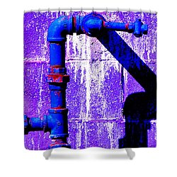 Leaky Faucet IIi Shower Curtain