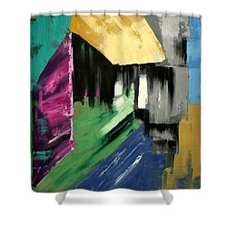 Lean Not On Your Own Understanding Shower Curtain by Anthony Falbo