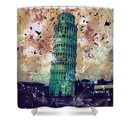 Leaning Tower Of Pisa 1 Shower Curtain