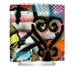 Learning From The Past Shower Curtain by Everett Spruill