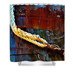 Learning The Ropes Shower Curtain by Lauren Leigh Hunter Fine Art Photography