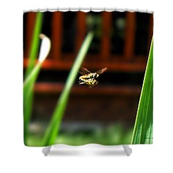 Shower Curtain featuring the photograph Leave No Bee Behind by Thomas Woolworth