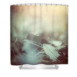 Leaves Of Time  Shower Curtain by Trish Mistric