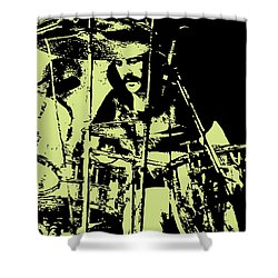 Led Zeppelin No05 Shower Curtain