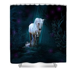Left Alone Shower Curtain
