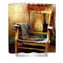 Left Behind Shower Curtain by Lauren Leigh Hunter Fine Art Photography