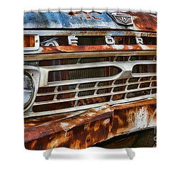 Left To Rust By Diana Sainz Shower Curtain