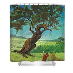 Legendary Archer Shower Curtain