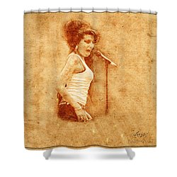 Legends 7 Shower Curtain by Andrew Fare