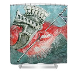 Legionnaire Fish Shower Curtain