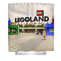 Legoland California Shower Curtain