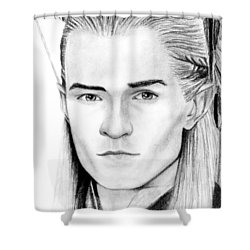 Legolas Greenleaf Shower Curtain
