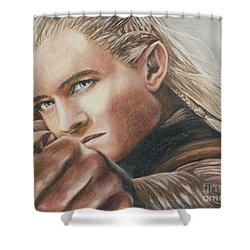 Legolas / Orlando Bloom Shower Curtain