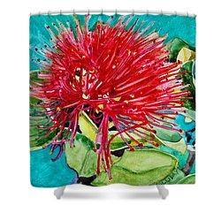 Lehua Blossom Shower Curtain