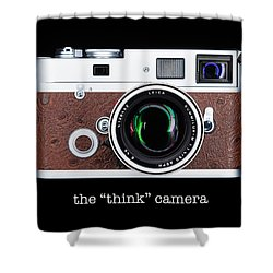 Leica M7 Shower Curtain by Dave Bowman