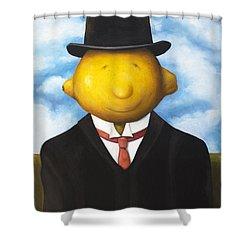 Lemon Head Shower Curtain