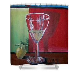 Lemon Juice Shower Curtain