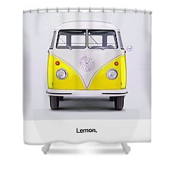 Lemon Shower Curtain by Mark Rogan