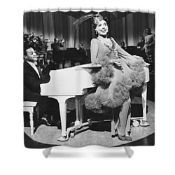 Lena Horne In Stormy Weather Shower Curtain by Underwood Archives