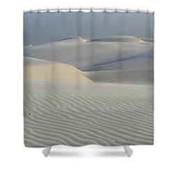 Lencois Maranhenses Brazil 3 Shower Curtain by Bob Christopher