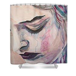 L'encre De Tes Yeux Shower Curtain
