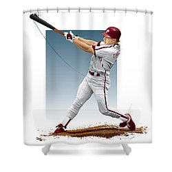 Lenny Dykstra Shower Curtain
