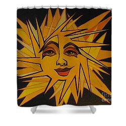 Lenny - Here Comes The Suns Shower Curtain