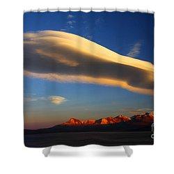 Lenticular Magic Shower Curtain by James Brunker