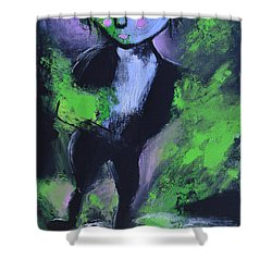 Leprechaun Shower Curtain by Donna Blackhall