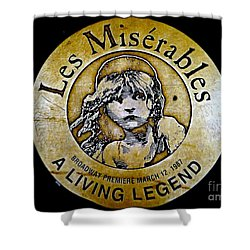 Les Miserables Shower Curtain