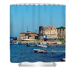 Lesbos Shower Curtain