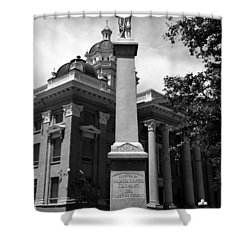 Lest We Forget Shower Curtain by David Lee Thompson