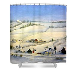 L'estrie Shower Curtain
