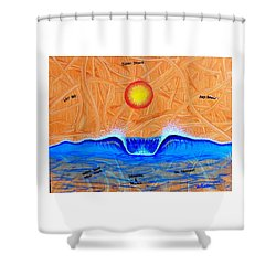 Let Go And Grow Shower Curtain