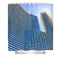 Let The Sun Shine Shower Curtain by Tammy Espino