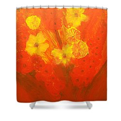 Let Them Have Tomorrow Shower Curtain by Laurette Escobar