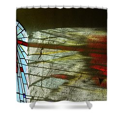 Let There Be Light Shower Curtain by Wendy Wilton
