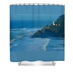 Let Your Light So Shine Shower Curtain