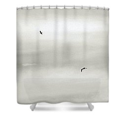 Let Your Spirit Soar Shower Curtain by Robyn King