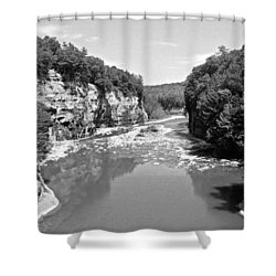 Letchworth State Park Shower Curtain
