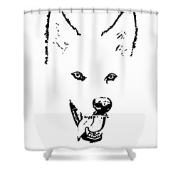 Let's Bark N Roll Shower Curtain