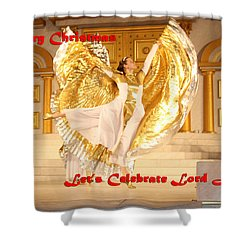 Let's Celebrate Lord Jesus4 Shower Curtain