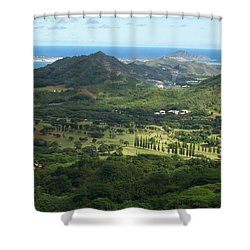 Let's Play Golf Shower Curtain by Kenneth Cole