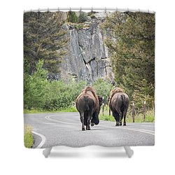 Let's Start This Day... Shower Curtain