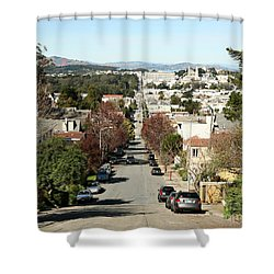 Shower Curtain featuring the photograph Let's Take It From The Top by Carol Lynn Coronios