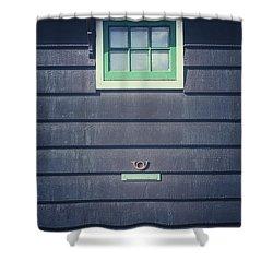 Letter Box Shower Curtain by Joana Kruse