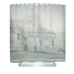 Letters From Roma Shower Curtain