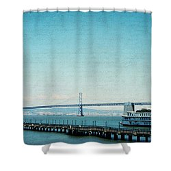 Shower Curtain featuring the photograph Letters From San Francisco by Lisa Parrish
