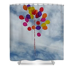 Letting Go Shower Curtain by Emmy Marie Vickers